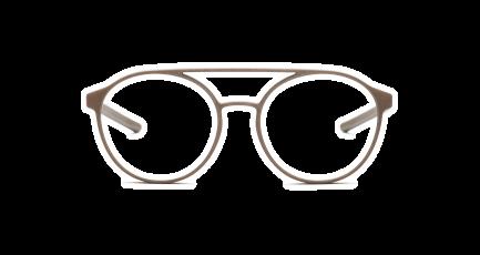 VOYOU eyewear - Jefferson - 3D gedruckte Brille - rund - Aviator - Doppelsteg - Damen & Herren - Unisex | 3D printed glasses - round - double bridge - Ladies & Men | Lunettes imprimées en 3D - ronde - Aviateur - double pont - Femme & Homme
