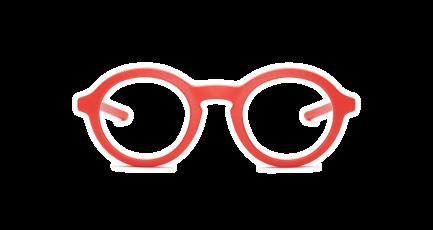 VOYOU eyewear - Spinoza - 3D gedruckte Brille - rund - dick - Damen & Herren - Unisex | 3D printed glasses - round - thick - Ladies & Men | Lunettes imprimées en 3D - ronde - épaisse - Femme & Homme