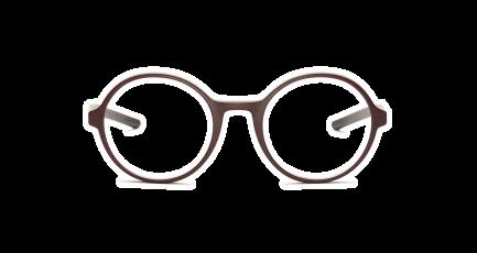 VOYOU eyewear - Vivekananda - 3D gedruckte Brille - rund - dünn - Damen & Herren - Unisex | 3D printed glasses - round - - Ladies & Men | Lunettes imprimées en 3D - ronde - Femme & Homme