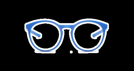 VOYOU eyewear - Woolf - 3D gedruckte Brille - rund - groß - Panto - Damen | 3D printed glasses - round - big - Ladies | Lunettes imprimées en 3D - ronde - grand - Femme