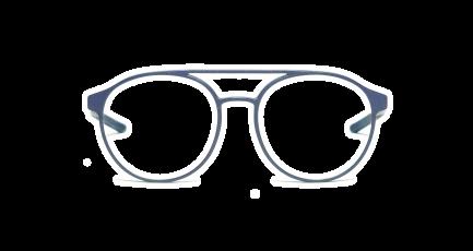 VOYOU eyewear - Marconi - 3D gedruckte Brille - rund - Aviator - Doppelsteg - Damen & Herren - Unisex | 3D printed glasses - rund - double bridge - Ladies & Men | Lunettes imprimées en 3D - ronde - Aviateur - double pont - Femme & Homme